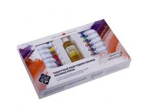 Dárková sada olejových barev MASTER CLASS 12x18 ml