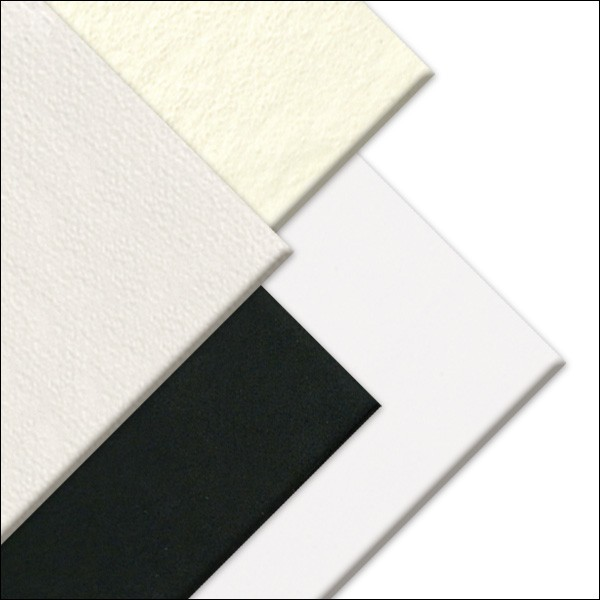 Art Board 30x40 cm - deska z tvrzeného papíru Canson Bílá: white