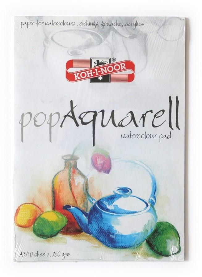 Blok pop Aquarell 250g/m² - A3
