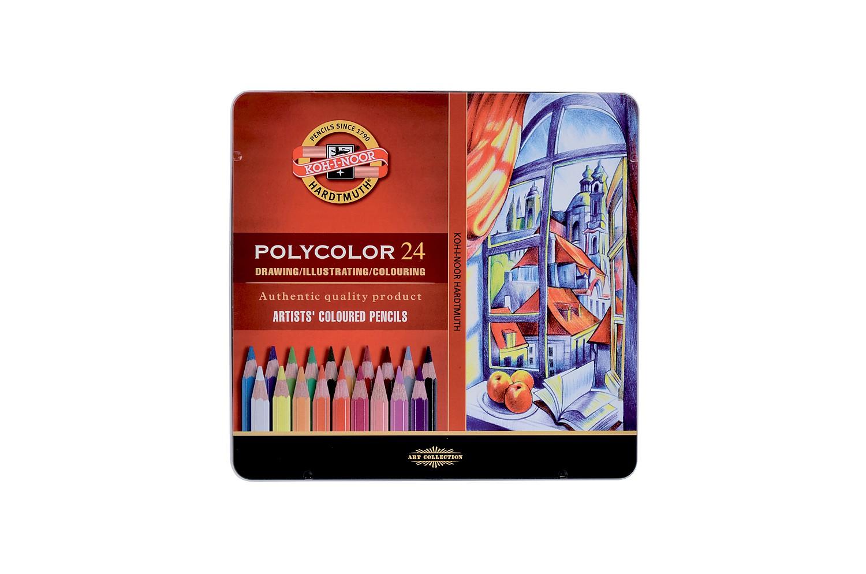 Pastelky POLYCOLOR - 24 ks