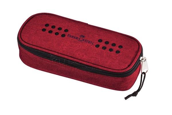 Plátěný penál Faber - Castell červená: red