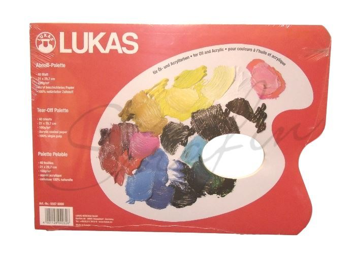 Papírové palety Lukas 21x29,7 cm, 40 ks