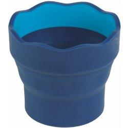 Skládací kelímek Faber-Castell Clic&Go - modrý