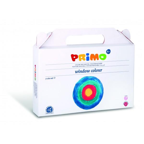 Barvy na sklo PRIMO - 7 x 80 ml