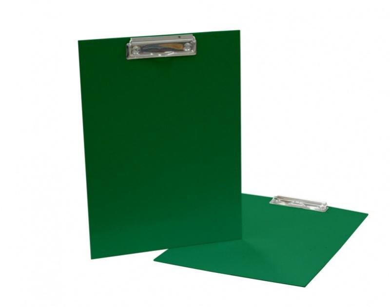 Podložka A4 s klipem - lamino zelená: green