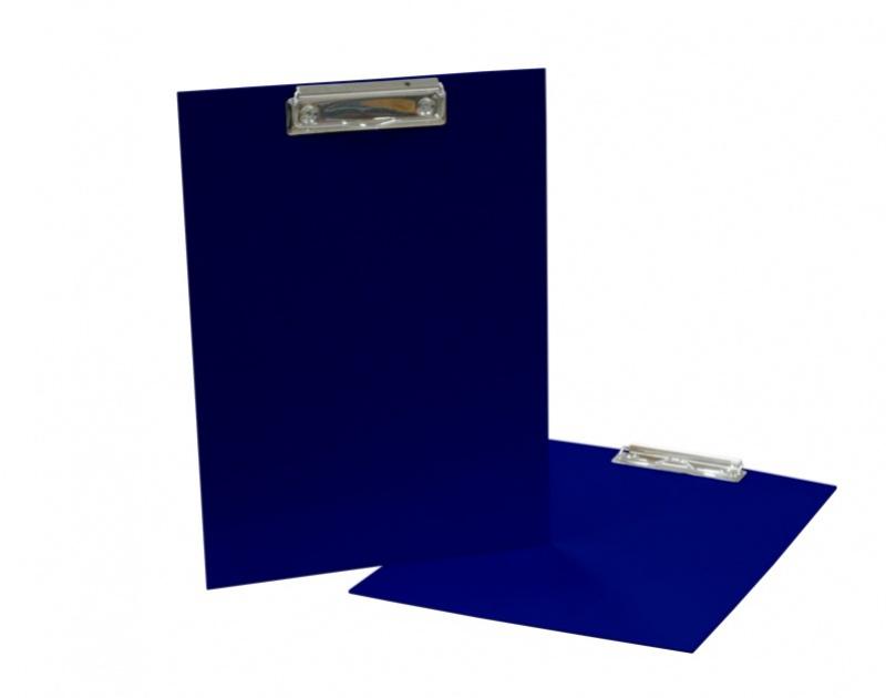 Podložka A4 s klipem - lamino modrá: blue