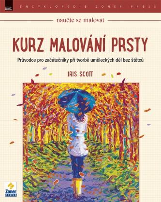 Kniha - Kurz malování prsty od Iris Scott