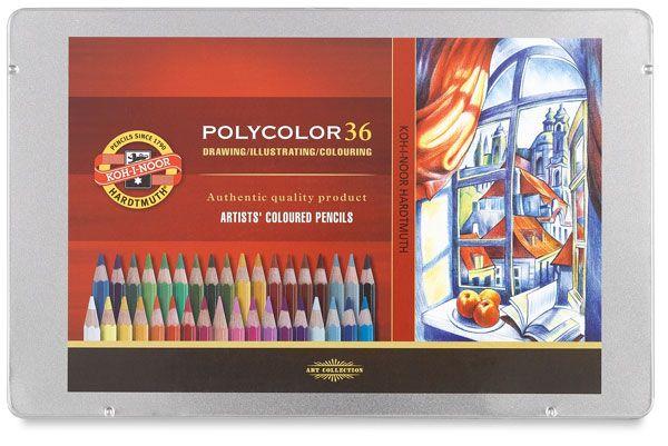 Pastelky POLYCOLOR - 36 ks