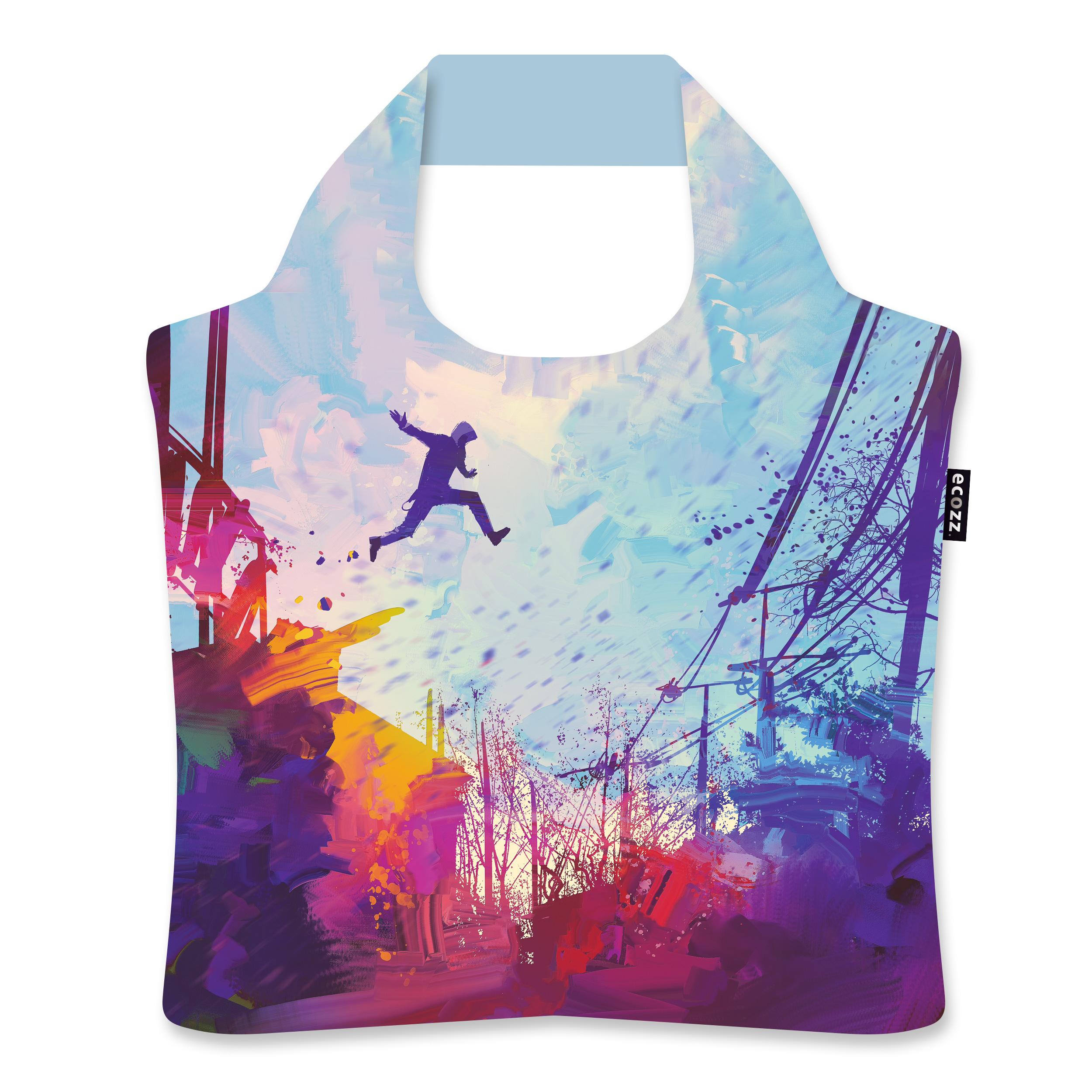 "Ekologická skládací taška ECOZZ - ""Skok"""
