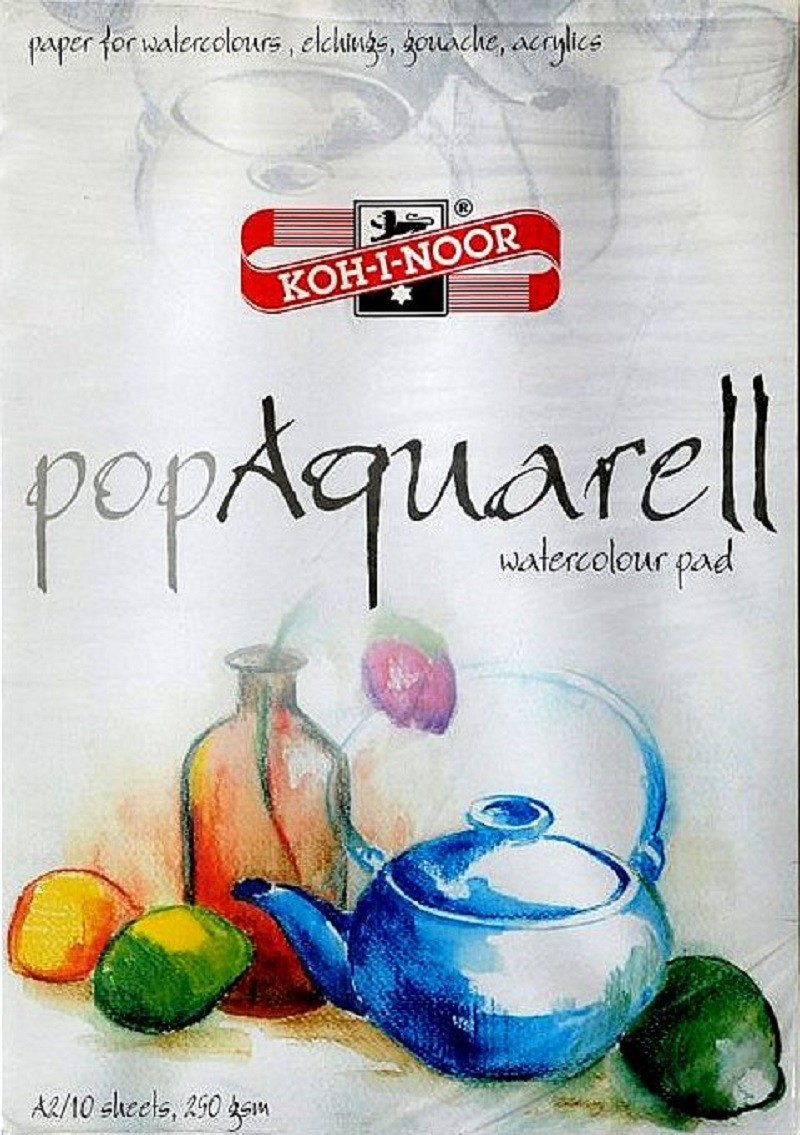 Blok pop Aquarell 250g/m² - A2