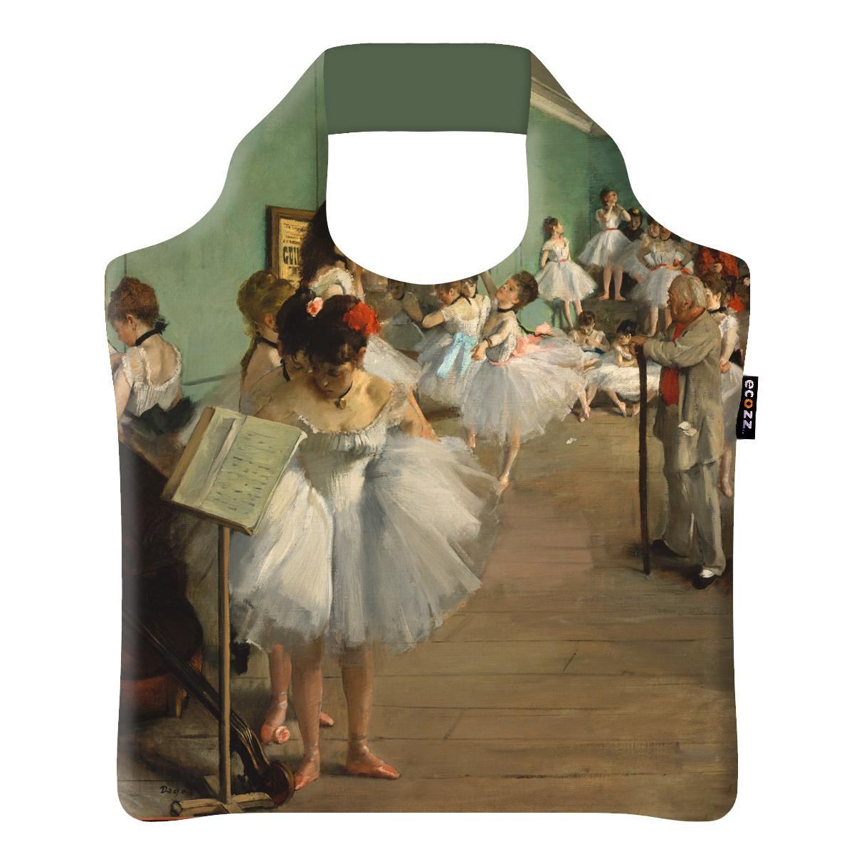"""Ekologická skládací taška ECOZZ - design """"Hodina tance"""""""