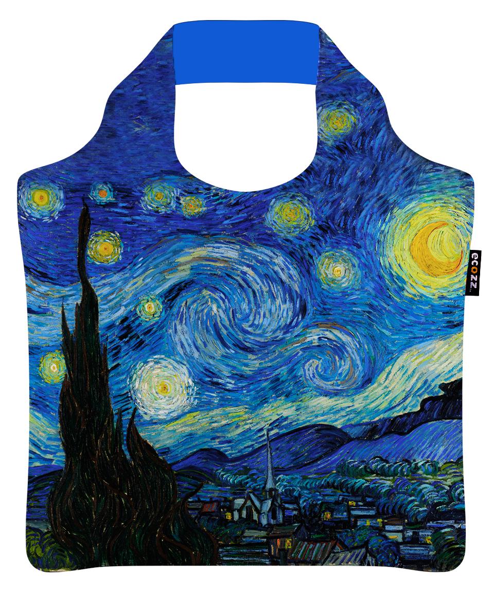"""Ekologická skládací taška ECOZZ - design """"Hvězdná noc"""""""