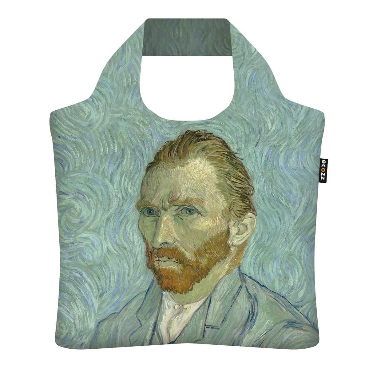 """Ekologická skládací taška ECOZZ - """"Van Gogh - autoportrét"""""""
