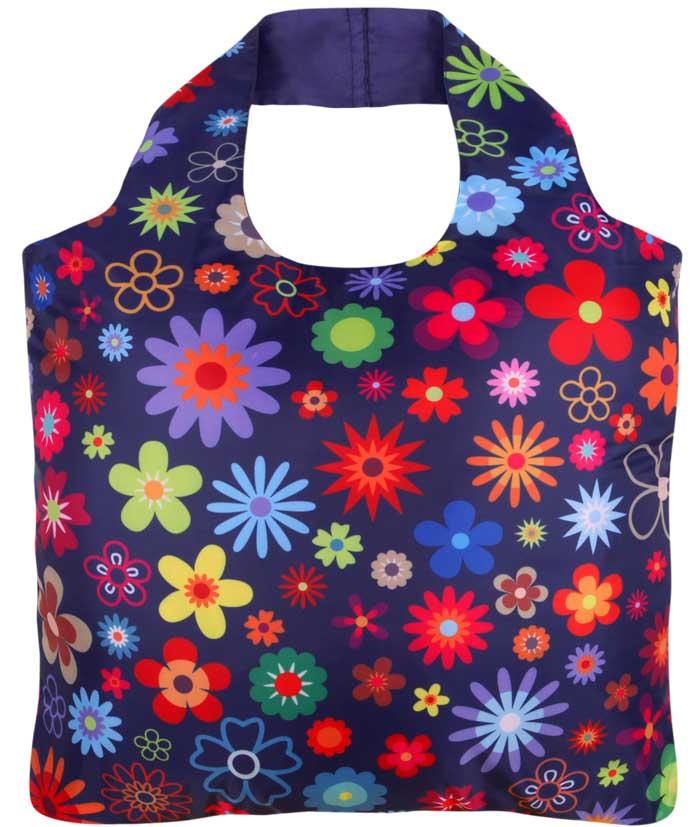 """Ekologická skládací taška ECOZZ - design """"Crazy"""""""