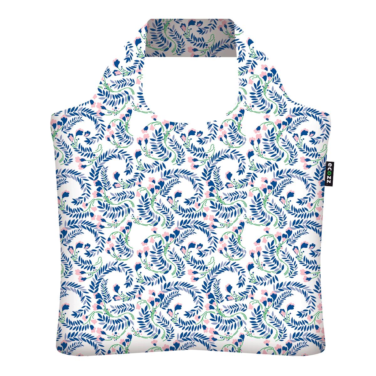 "Ekologická skládací taška ECOZZ - design ""Jaro"""