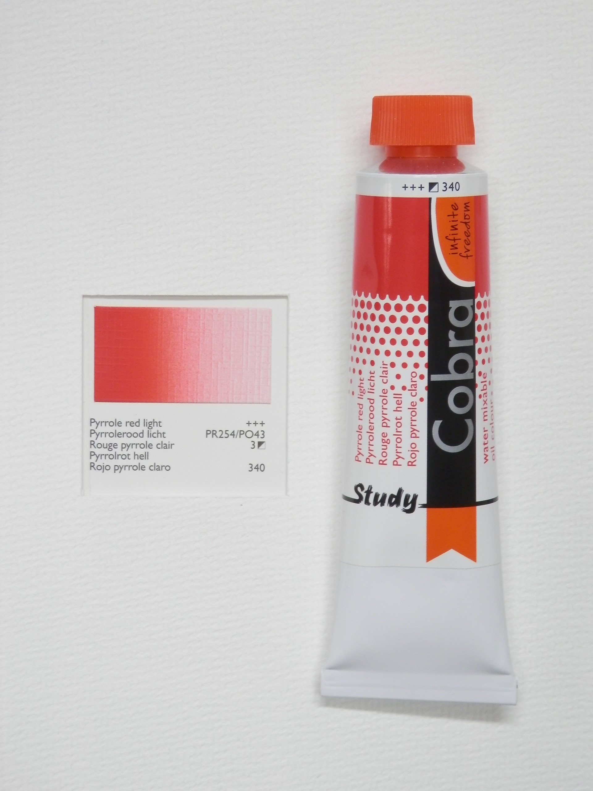 Olejová barva COBRA H2Oil 40 ml - Pyrrole red light 340