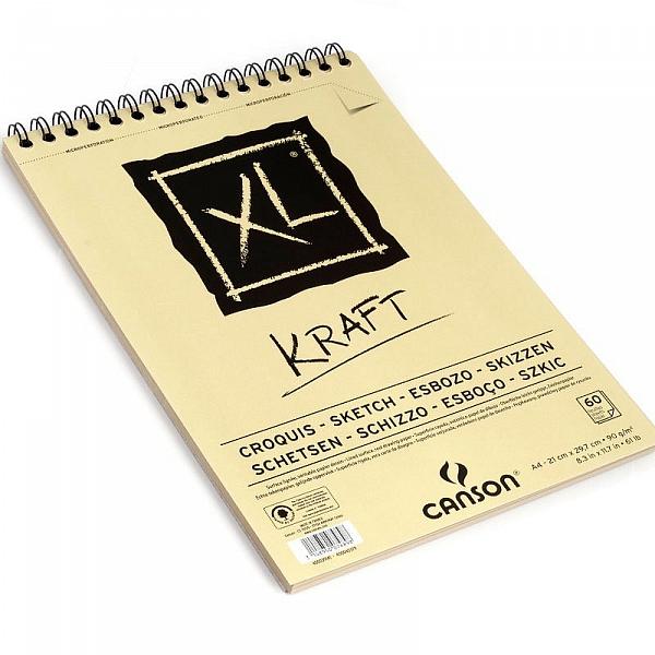 Blok XL KRAFT Canson 90g/m² - A4