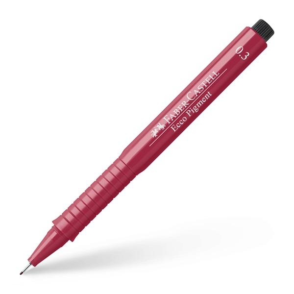 Popisovač ECCO PIGMENT - červený 0.3 mm