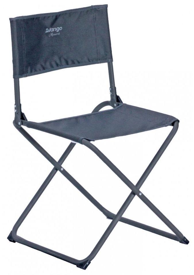 Skládací židle pro venkovní tvorbu Vango Monarch - tmavě šedá