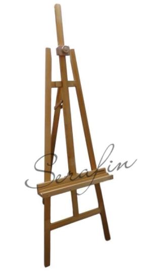 Velký dřevěný stojan - smrk čistý