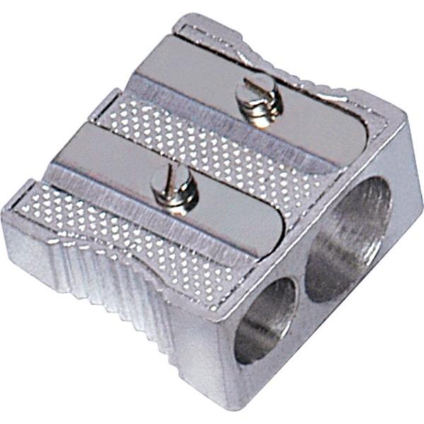 Ořezávátko dvojité kovové Faber Castell