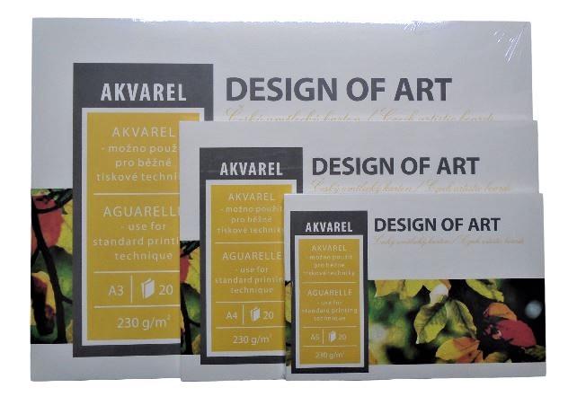 Blok Akvarel 230g/m² - A2