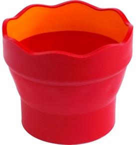 Skládací kelímek Faber-Castell Clic&Go - červený