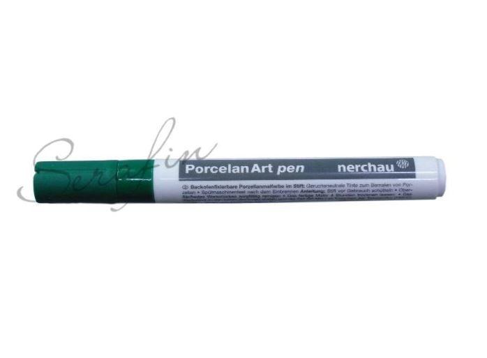 Fixa na porcelán NERCHAU PORCELAN ART - zelená