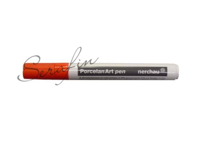 Fixa na porcelán NERCHAU PORCELAN ART - oranžová