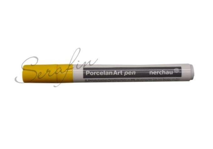 Fixa na porcelán NERCHAU PORCELAN ART - žlutá