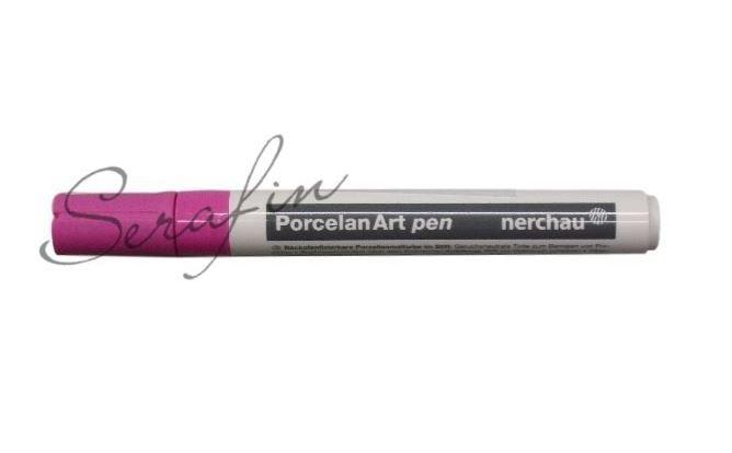Fixa na porcelán NERCHAU PORCELAN ART - růžová