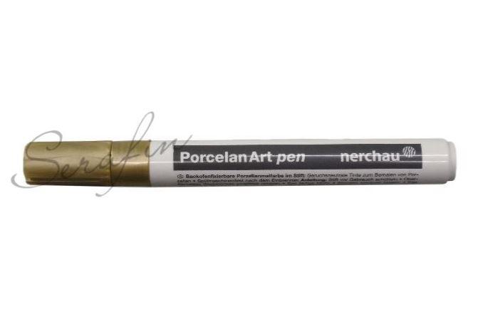Fixa na porcelán NERCHAU PORCELAN ART - zlatá