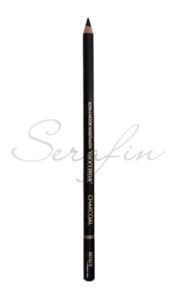 Kreslící uhel v tužce KOH-I-NOOR - černý 8810/2