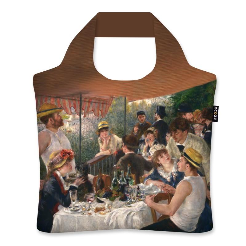 """Ekologická skládací taška ECOZZ - """"Renoir - Snídaně veslařů"""""""