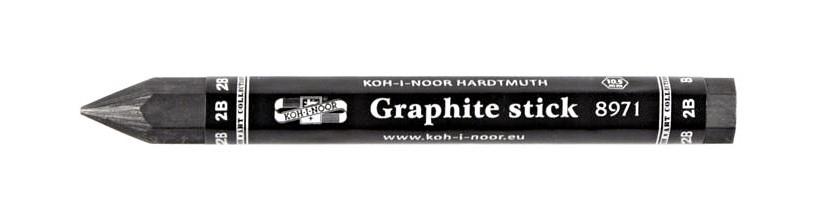 Grafitová tužka silná šestihranná Koh-i-noor - 2B
