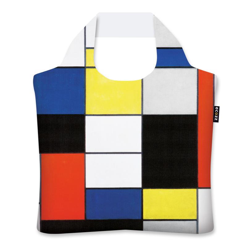 "Ekologická skládací taška ECOZZ - ""Mondrian - Composition A"""