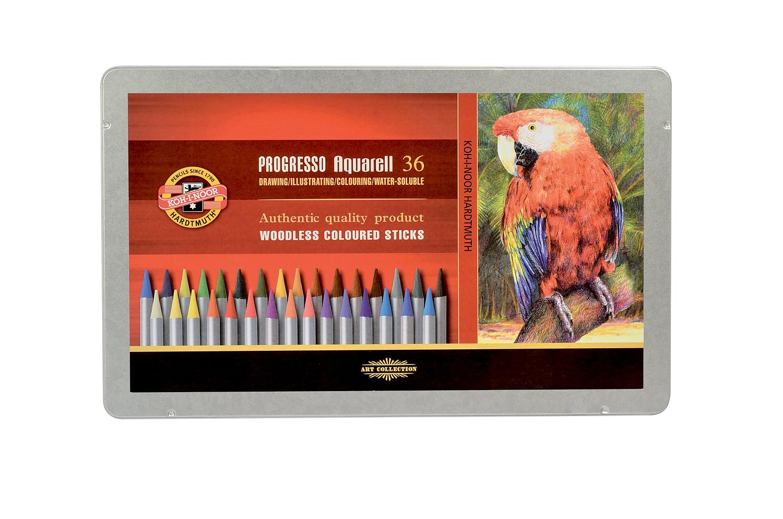 Akvarelové pastelky Progresso - 36 ks