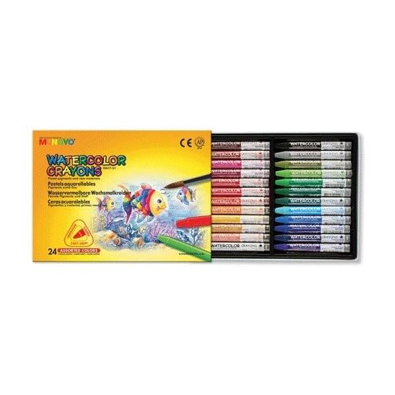Akvarelové pastelky Mungyo - 24 ks