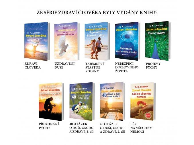 Balíček- všechny knihy z řady Zdraví člověka (5 ks)