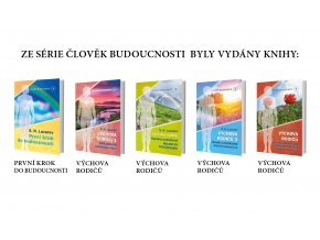 Balíček- všechny knihy z řady Člověk budoucnosti (3 ks)