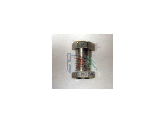 MŮSTEK fleret - náhradní šroubky s matkou, 4 mm