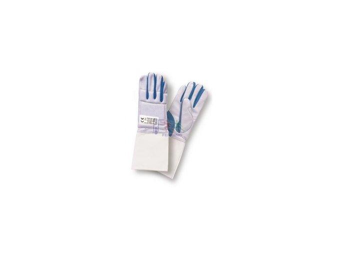 RUKAVICE PBT modro-šedá pratelná
