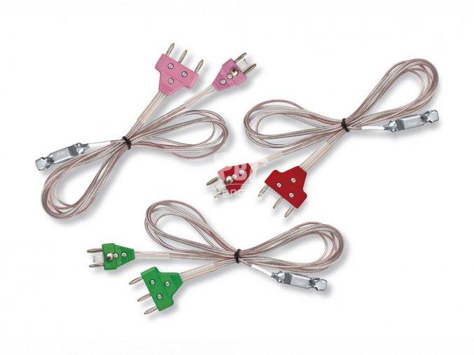 fleret kabel s barevnou koncovkou