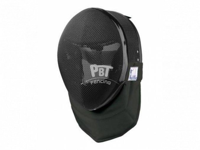 Maska PBT černá s černým límcem 350N