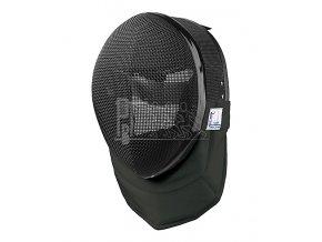 Maska PBT černá FIE 1600N s černým límcem