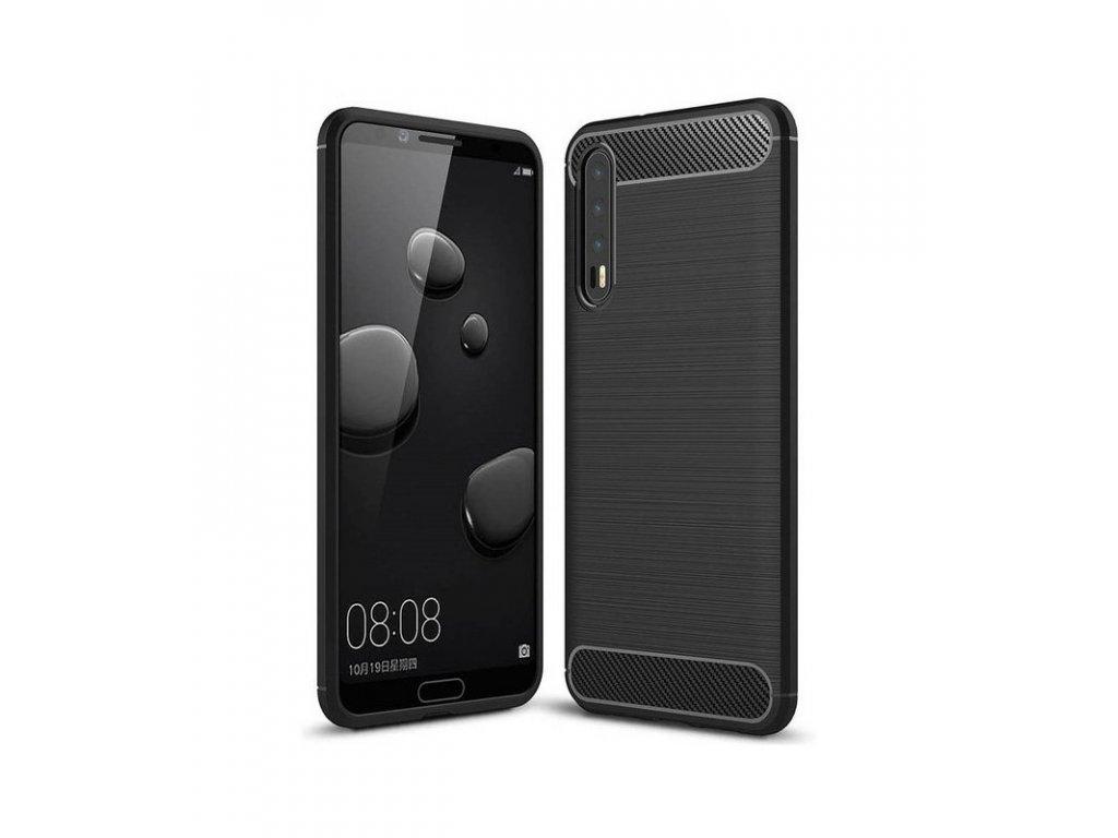 Puzdro Huawei P20 Pro / Plus karbónové čierne