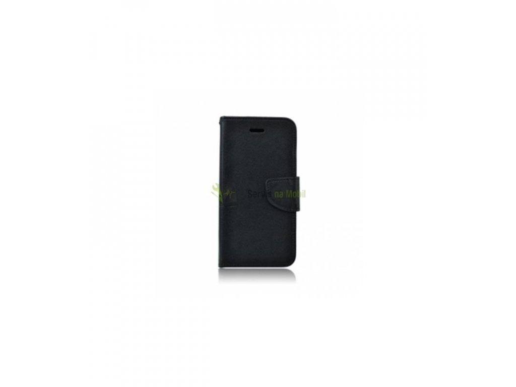 Knižkové púzdro na Samsung galaxy Core prime čierne