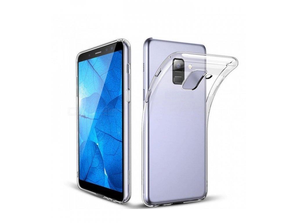 Puzdro Jelly Case Samsung A6 2018 priesvitné