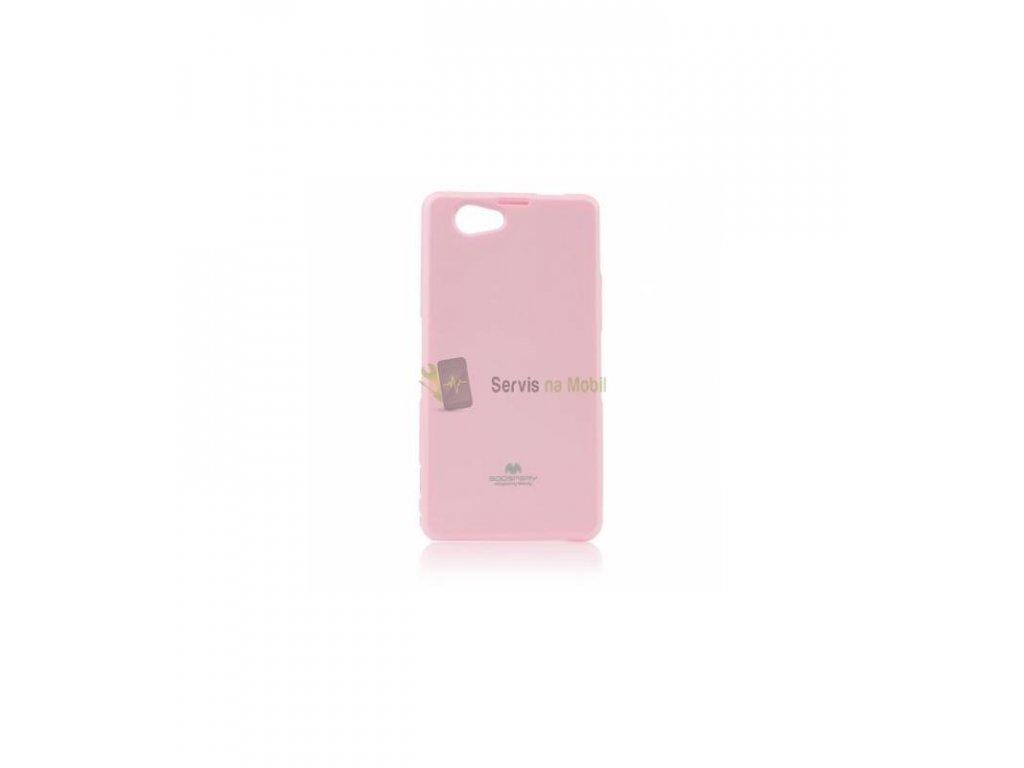 Puzdro Sony Xperia Z1 compact Jelly Case ružové