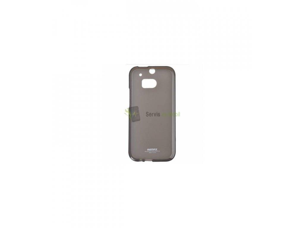 Silikonové púzdro na HTC One M9 čierne